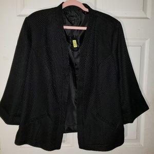 Investments Plus Size 18 Blazer Black